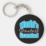 Worlds Greatest Grandad Key Chain