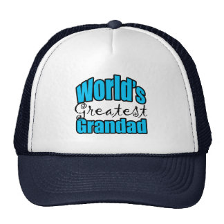 Worlds Greatest Grandad Mesh Hats