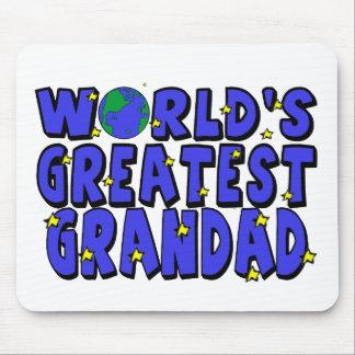 World's Greatest    Grandad Mouse Mat