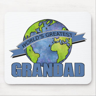 World's Greatest Grandad Mouse Pad