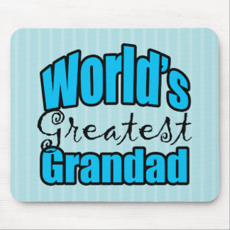 Worlds Greatest Grandad Mouse Pad