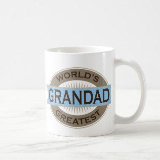 Worlds Greatest Grandad Classic White Coffee Mug