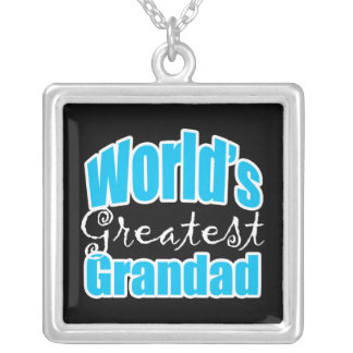 Worlds Greatest Grandad Silver Plated Necklace