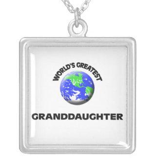 World's Greatest Granddaughter Jewelry