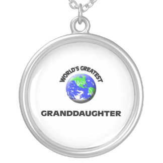 World's Greatest Granddaughter Necklace