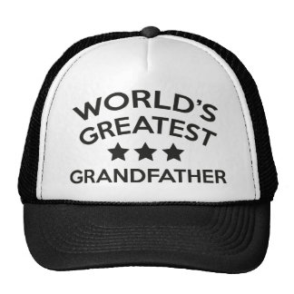 World's Greatest Grandfather Cap