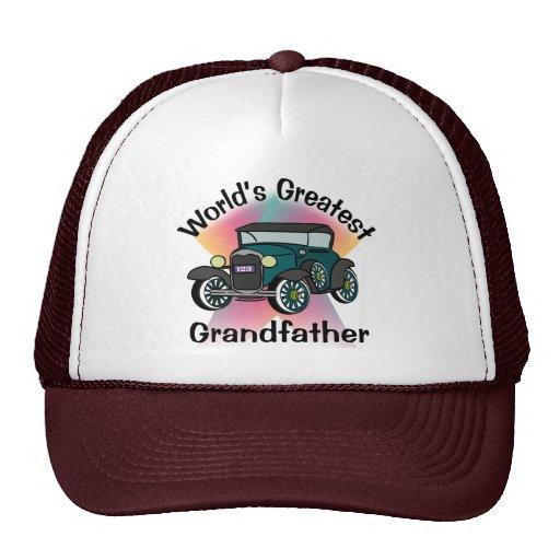 Worlds Greatest Grandfather Trucker Hat