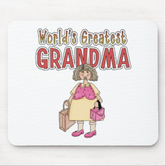 World's Greatest Grandma Mouse Pad