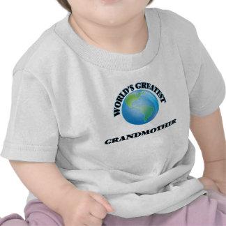 World's Greatest Grandmother Tee Shirts