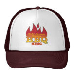 World's Greatest Grandpa BBQ KING Cap