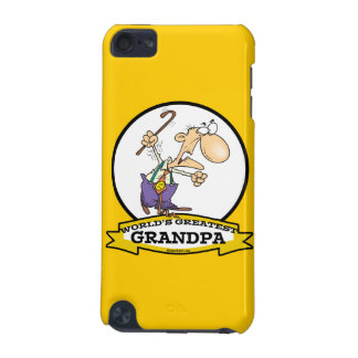 WORLDS GREATEST GRANDPA CARTOON iPod TOUCH (5TH GENERATION) COVER
