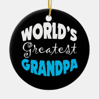Worlds Greatest Grandpa Christmas Ornament