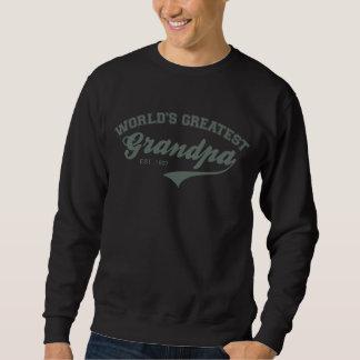 World's Greatest Grandpa Custom Varsity Shirt