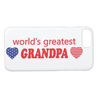 WORLDS GREATEST GRANDPA iPhone 8/7 CASE