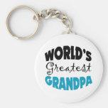 Worlds Greatest Grandpa Key Chains