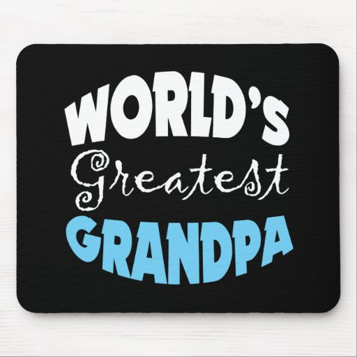 Worlds Greatest Grandpa Mouse Pad