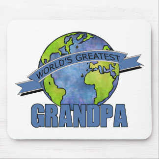 World's Greatest Grandpa Mouse Pad