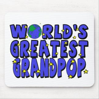 World's Greatest Grandpop Mouse Pad
