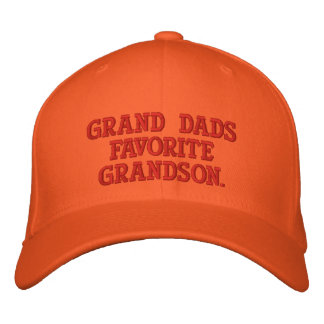 Worlds Greatest Grandson Embroidered Hat