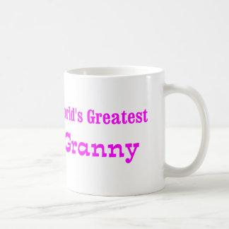 Worlds Greatest Granny Basic White Mug