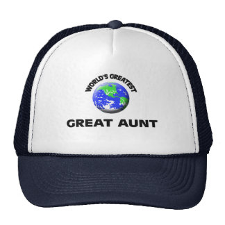 World's Greatest Great Aunt Mesh Hat