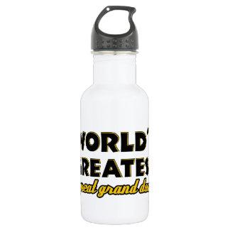 World's greatest great granddad 532 ml water bottle