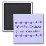 World's Greatest Great Grandma Magnets