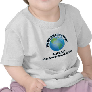 World's Greatest Great Grandmother Shirt