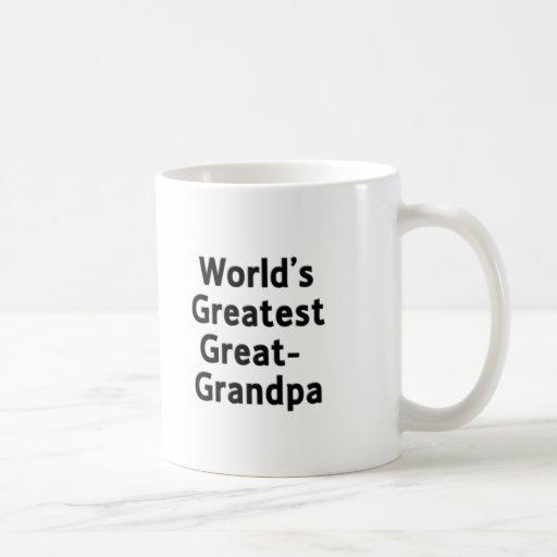 World's Greatest Great Grandpa Mug