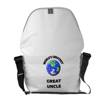 World's Greatest Great Uncle Courier Bags