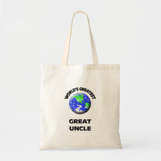 World's Greatest Great Uncle Budget Tote Bag