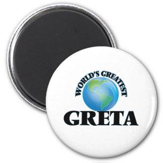 World's Greatest Greta Refrigerator Magnet