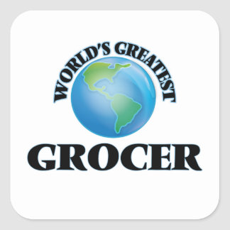 World's Greatest Grocer Stickers