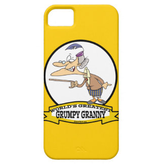 WORLDS GREATEST GRUMPY GRANNY CARTOON CASE FOR THE iPhone 5