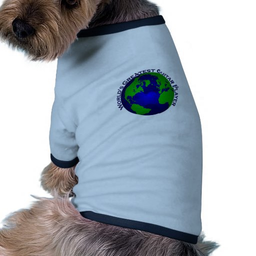 World's Greatest Guitar Player Pet Clothing