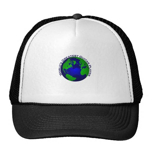 World's Greatest Guitar Player Mesh Hats