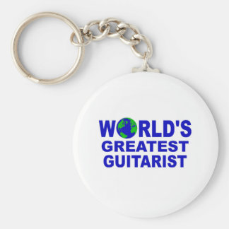 World's greatest Guitarist Keychain