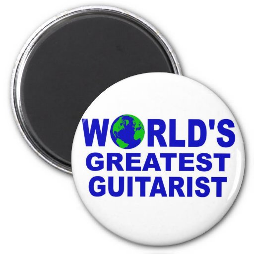 World's greatest Guitarist Refrigerator Magnets