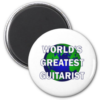 World's Greatest Guitarist Fridge Magnets