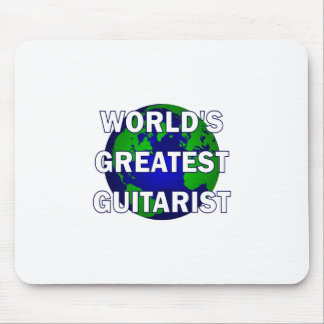 World's Greatest Guitarist Mousepad