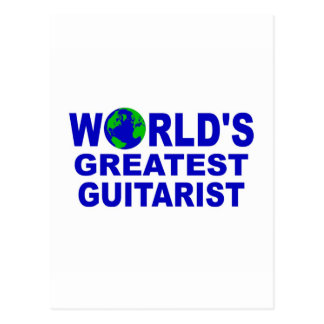 World's greatest Guitarist Postcards