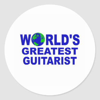 World's greatest Guitarist Stickers