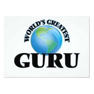 World's Greatest Guru Personalized Invites
