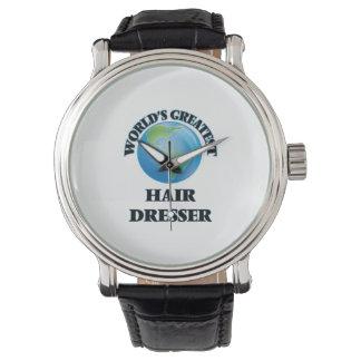 World's Greatest Hair Dresser Wrist Watches