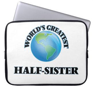 World's Greatest Half-Sister Laptop Computer Sleeve