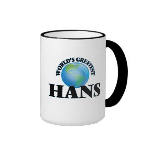 World's Greatest Hans Mugs