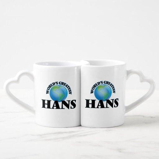 World's Greatest Hans Couples Mug