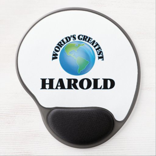 World's Greatest Harold Gel Mouse Mats