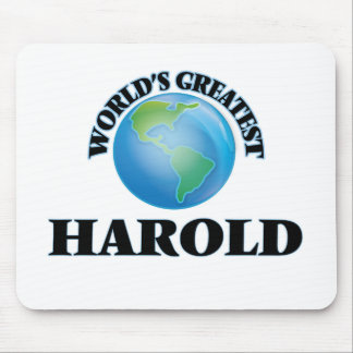 World's Greatest Harold Mouse Pad