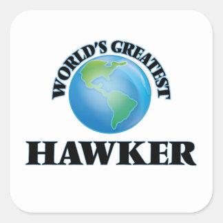World's Greatest Hawker Sticker